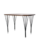 Edge Rounded Top Table(엣지 라운드디드 탑 테이블)